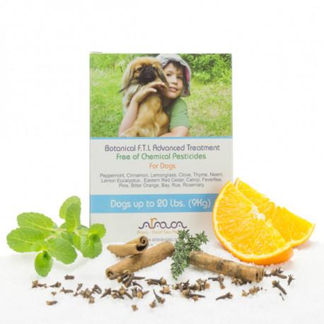 Arava Bylinné antiparazitné pipety pre psov 0-9kg, 4x4ml Arava - 1