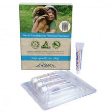Arava Bylinné antiparazitné pipety pre psov 0-9kg, 4x4ml Arava - 2
