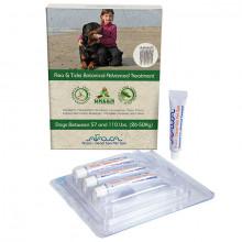 Arava Bylinné antiparazitné pipety pre psov 26-50kg 4x8ml Arava - 2