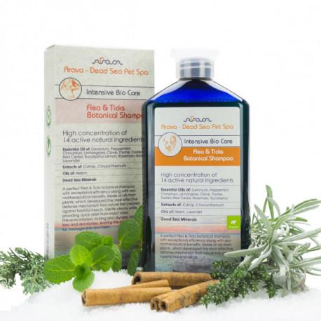 Arava Bylinný antiparazitný šampón pre šteniatka 400ml Arava - 1