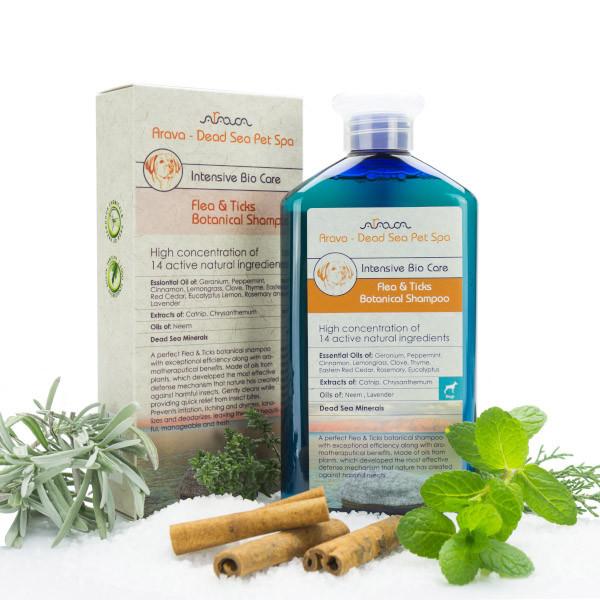 Arava Bylinný antiparazitný šampón pre dospelé psy 400ml Arava - 1