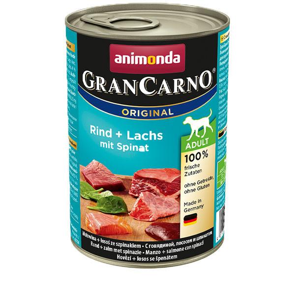 GranCarno Original Adult - Hovädzie a losos so špenátom 400g Animonda - 1