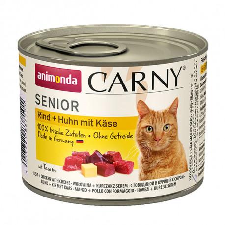 Animonda Carny Senior - Hovädzie, kuracie + syr 200g Animonda - 2