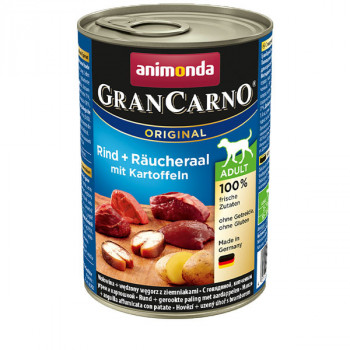 GranCarno Original Adult - Hovädzie a úhor so zemiakmi 400g Animonda - 1