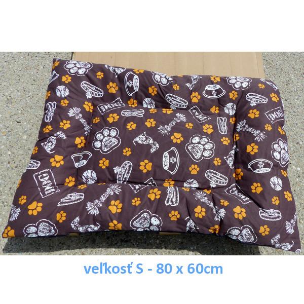 Vankúš pre zvieratá veľ. S Nobleza Dog on Board - 80x60cm Nobleza - 1