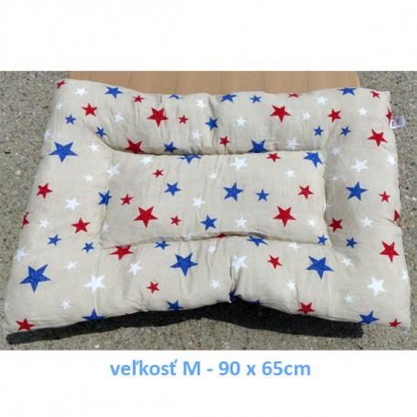 Vankúš pre zvieratá veľ. S Nobleza Stars - 80x60cm Nobleza - 2