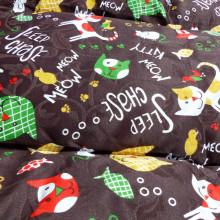 Vankúš pre zvieratá veľ. S Nobleza Cat Pattern Brown - 80x60cm Nobleza - 5