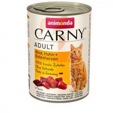 copy of Carny Adult - Hovädzie, kura a kačacie srdcia 200g Animonda - 3