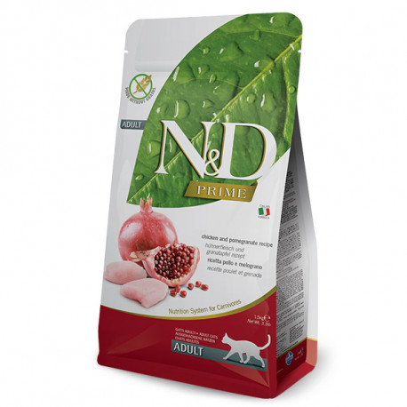 Farmina N&D Cat Prime Adult Chicken & Pomegranate 300g Farmina N&D - 1