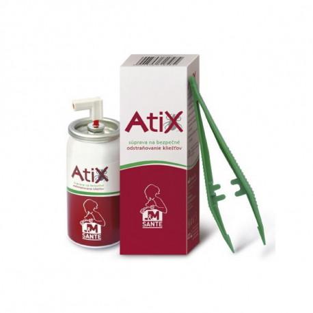 ATIX súprava na odstraňovanie kliešťov 1x1 set  - 1