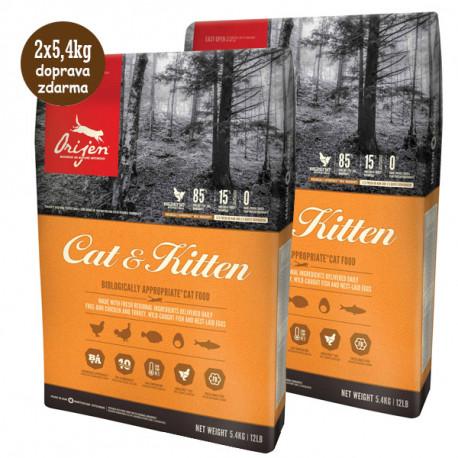 Orijen Cat & Kitten 5,4kg  - 2