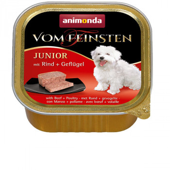 Vom Feinsten Junior - Hovädzie a hydina 150g Animonda - 1