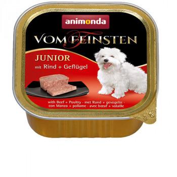 Vom Feinsten Junior - hovädzie s hydinou Animonda - 1