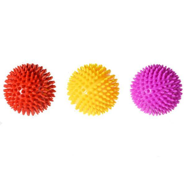 Masážna pískacia lopta Nobleza - 7cm Nobleza - 1