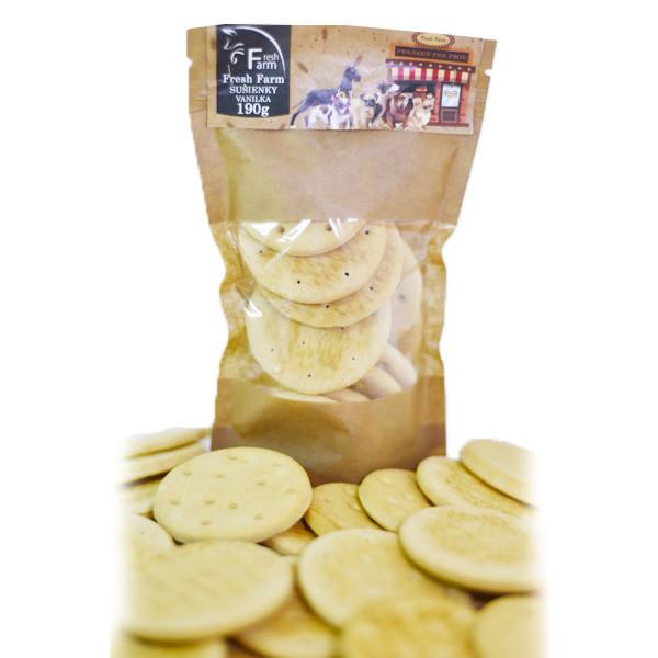 Fresh Farm Biscuit - Sušienky vanilka 190g Ani - pet - 1