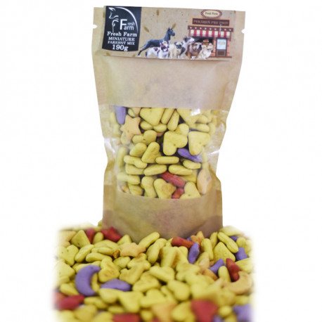 Fresh Farm Biscuit - Miniature farebny mix 190g Ani - pet - 1