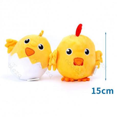 Plyšová hračka Nobleza - Kuriatko a vajíčko Nobleza - 1