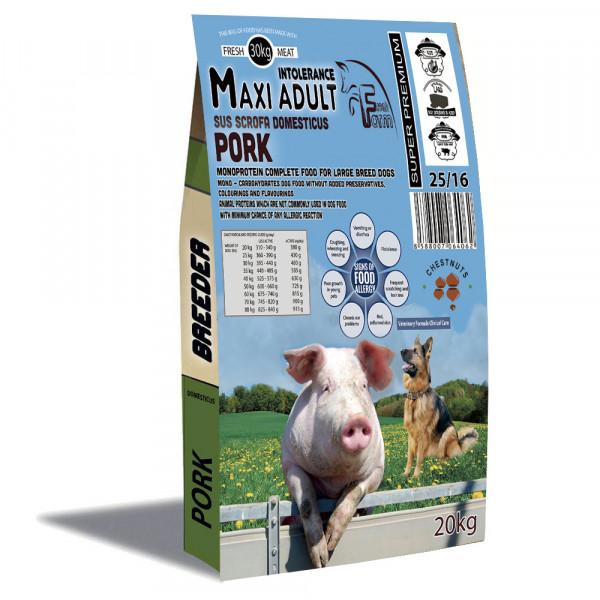 Fresh Farm Pork Adult Medium&Maxi Intolerance 20kg Fresh Farm - 1