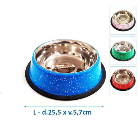 Nerezová miska Nobleza L - mramorový dizajn Nobleza - 1