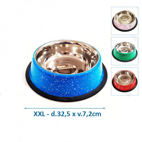 Nerezová miska Nobleza XXL - mramorový dizajn Nobleza - 1