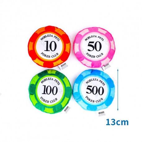 Plyšová hračka Nobleza - žetón na poker Nobleza - 1