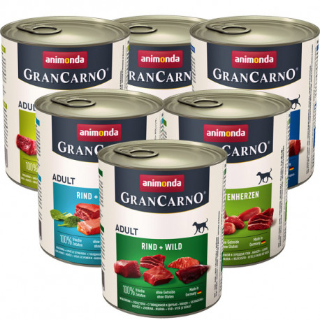 copy of GranCarno Original Adult - mäsový kokteil Animonda - 2