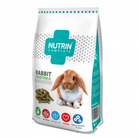 Nutrin Complete Králik Adult Vegetable - 400g Nutrin - 1
