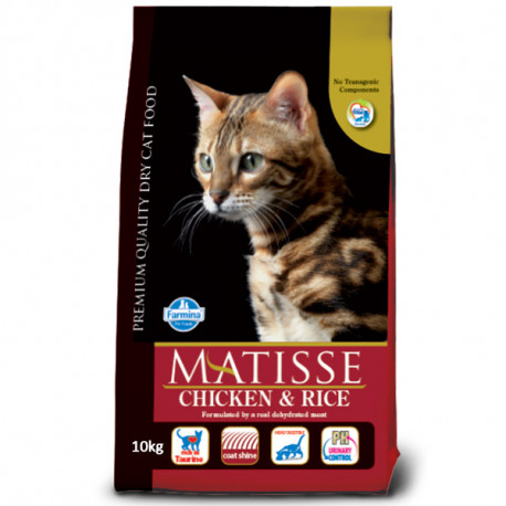 Farmina Matisse Cat Adult Chicken&Rice 400g Farmina N&D - 3
