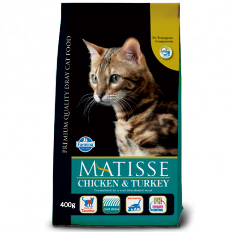 Farmina Matisse Cat Adult Chicken & Turkey 400g Farmina N&D - 1