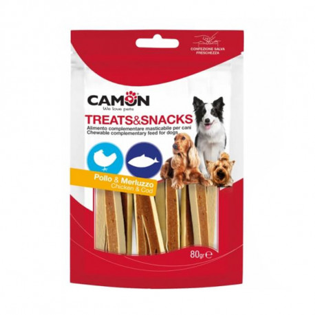 Camon Treats&Snacks Dog - Sandwich kura s treskou 80g Camon - 1
