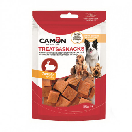 Camon Treats&Snacks Dog - Kocky králik 80g Camon - 1