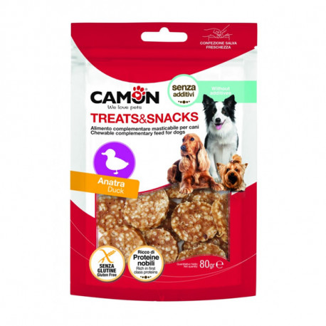 Camon Treats&Snacks Dog - Krúžky kačica s ryžou 80g Camon - 1