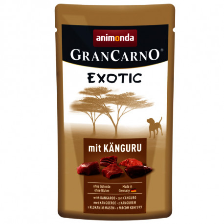 Animonda GranCarno Exotic - Klokan 125g Animonda - 1