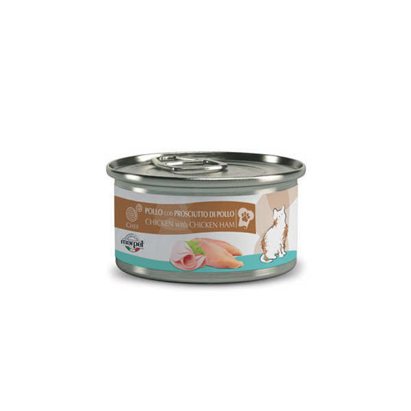 copy of Chef Cat Kitten - Kuracie filety 80g Marpet - 1