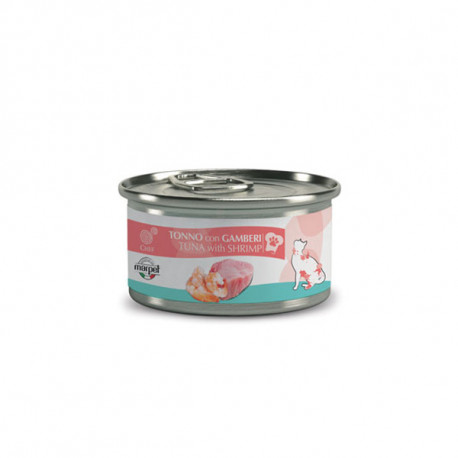 Chef Cat Adult Sterilized - Tuniak filety a krevety 80g Marpet - 1