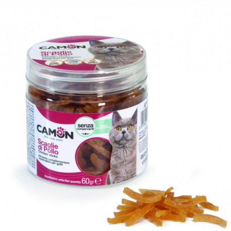 Camon Treats & Snacks Cat - Kuracie pásiky 60g Camon - 1