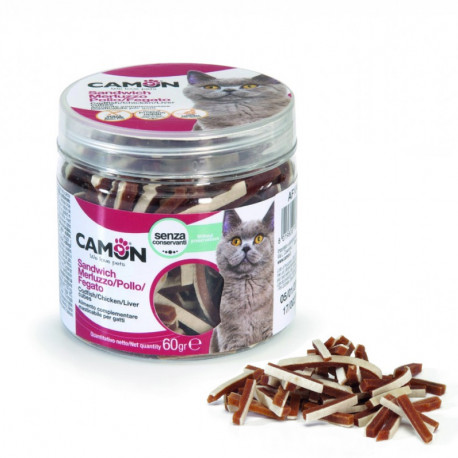 Camon Treats & Snacks Cat - Sandwich kura a treska 60g Camon - 1