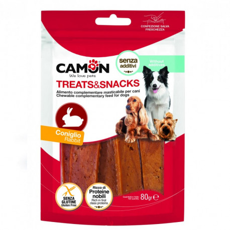 Camon Treats&Snacks Dog - Steaky králičie 80g Camon - 1