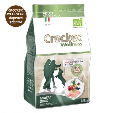 Crockex Wellness Adult Duck & Rice 12kg MisterPet - 1