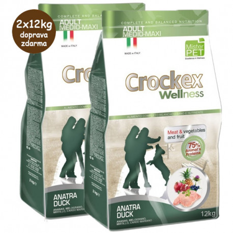 Crockex Wellness Adult Duck & Rice 12kg MisterPet - 2