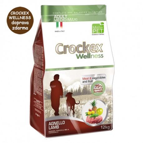Crockex Wellness Adult Medium&Maxi Lamb & Rice 12kg MisterPet - 1
