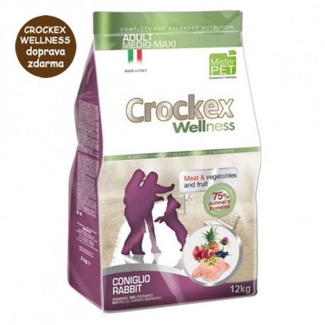 Crockex Wellness Adult Medium&Maxi Rabbit & Rice 12kg MisterPet - 2