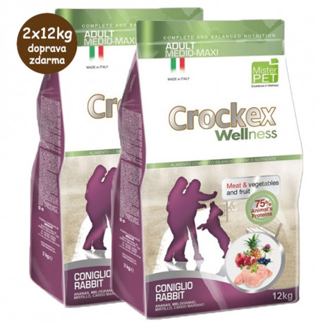 copy of Crockex Wellness Puppy Chicken & Rice 12kg MisterPet - 1