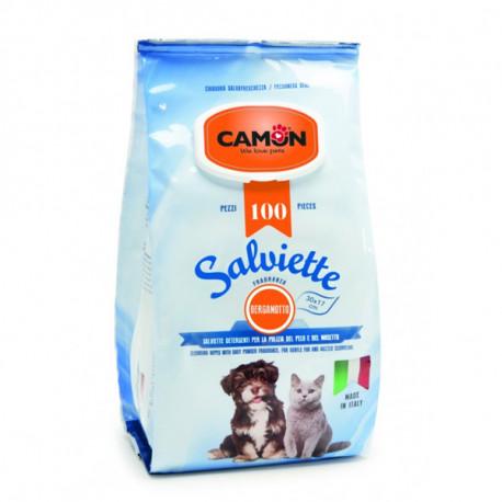 Vlhčené utierky na zvieratá Camon s vôňou citrusovníka 100ks Camon - 1
