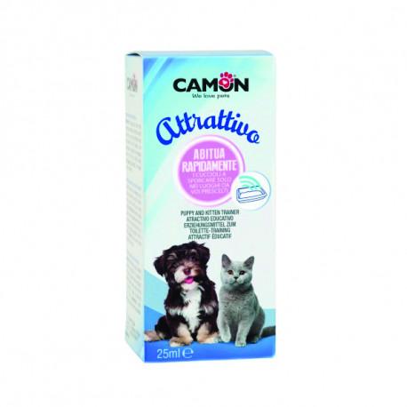 Výcvikové kvapky do toalety Camon pre psov a mačky 25ml Camon - 1