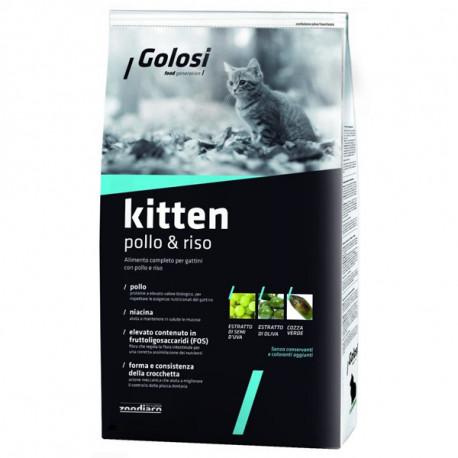 Golosi Cat Kitten - Kuracie s ryžou 400g  - 1