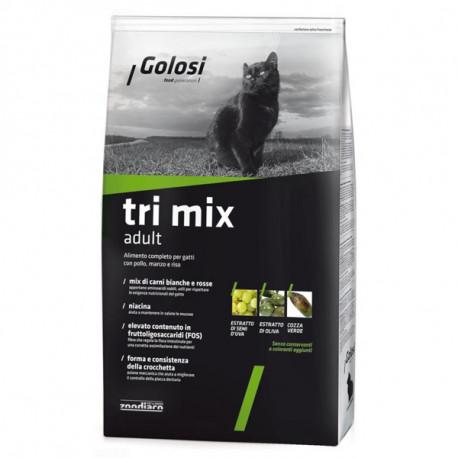 Golosi Cat Adult Tri Mix - Kuracie, hovädzie a ryža 400g  - 1