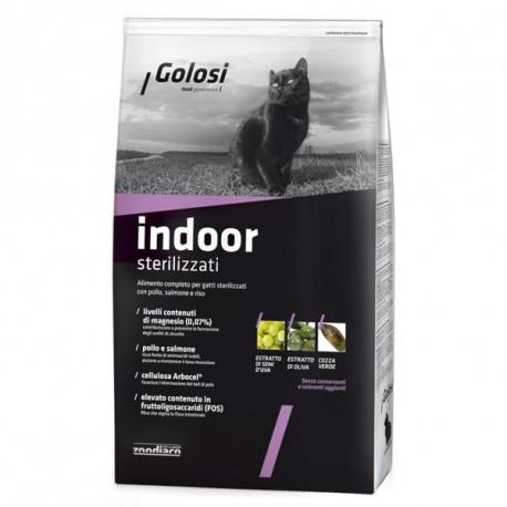 Golosi Cat Adult Indoor - Kuracie a losos 400g Zoodiaco - 1