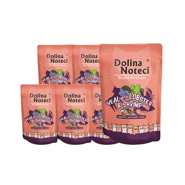copy of Dolina Noteci Superfood Cat - Kuracie, hovädzie a pražma 85g DNP S.A. - 1