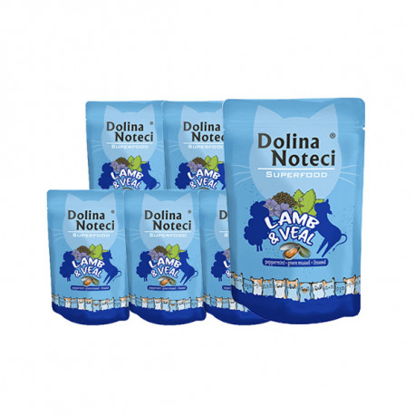 copy of Dolina Noteci Superfood Cat - Kuracie, hovädzie a pražma 85g DNP S.A. - 1